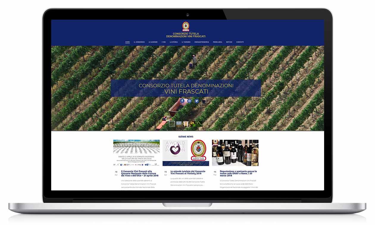web consorzio vini frascati