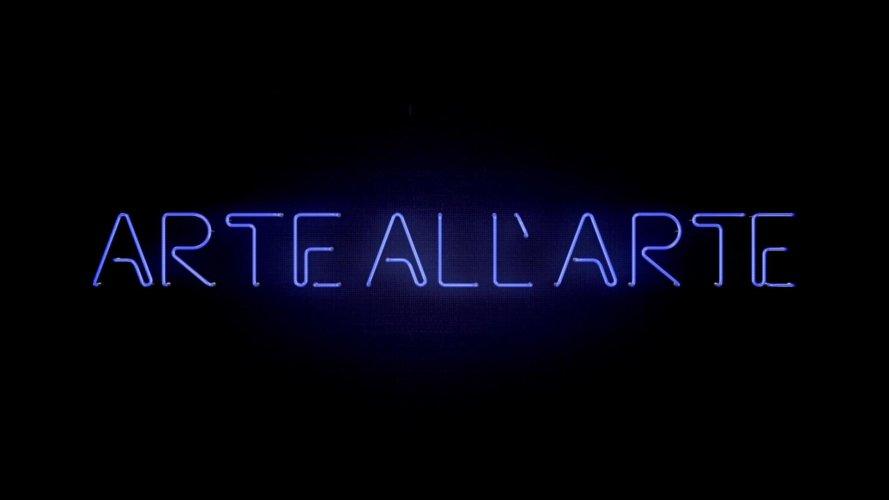 cartello iniziale arte all'arte