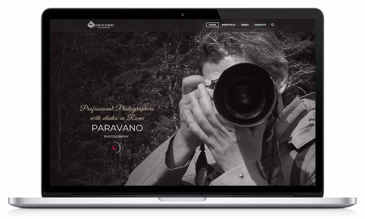 web studio Paravano